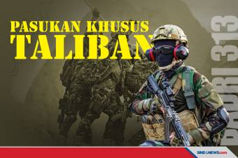 Taliban Pamer Pasukan Khusus Bersenjata Canggih, Badri 313