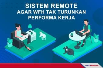 Budayakan Sistem Remote Agar WFH Tak Turunkan Performa Kerja