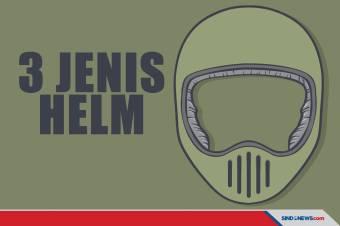 Jenis-Jenis Helm Sesuai Jenis, Fungsi dan Kegunaannya