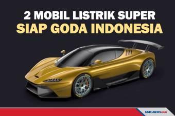 Baran Energy Goda Indonesia dengan Dua Mobil Listrik Super