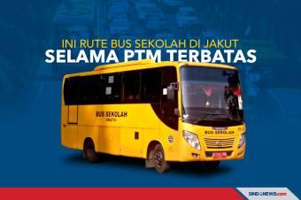 Ini Rute Bus Sekolah yang Tersedia di Jakut Selama PTM Terbatas