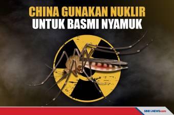 China Akan Memakai Nuklir untuk Basmi Nyamuk Penyebar Penyakit