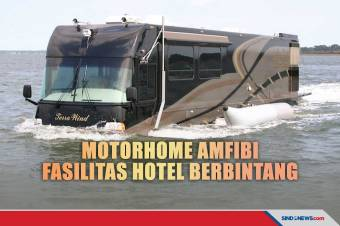Terra Wind RV, Motorhome Amfibi dengan Fasilitas Hotel Berbintang