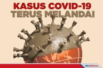 Kasus Covid-19 di Indonesia Terus Melandai Selama PPKM