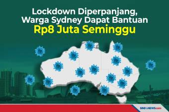 Warga Sydney Dapat Rp8 Juta Seminggu Selama Perpanjangan Lockdown