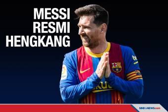 Lionel Messi Resmi Tak Perpanjang Kontrak dengan Barcelona