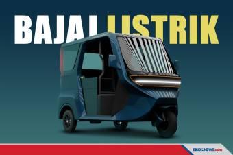 Perusahaan Sri Lanka Bikin Bajaj Listrik Panel Surya Futuristis