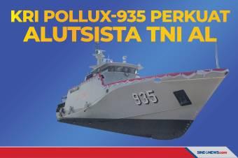 KRI Pollux-935 Perkuat Alutsista TNI Angkatan Laut
