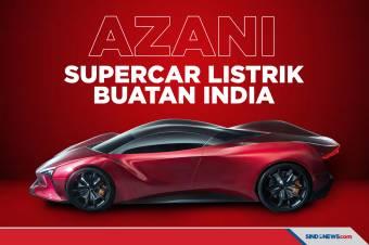 Azani, Supercar Bertenaga Listrik Pertama Buatan India