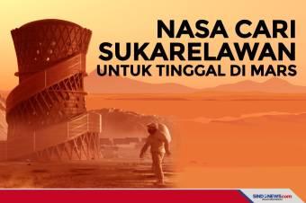 NASA Cari Sukarelawan untuk Tinggal di Mars Selama Setahun