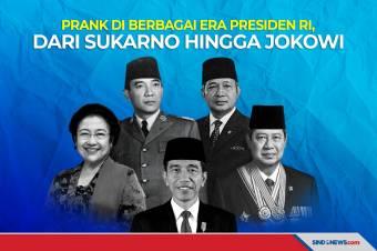 Prank di Berbagai Era Presiden, dari Soekarno hingga Jokowi