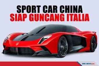 Sport Car China Siap Guncang Ferrari di Kota Milan