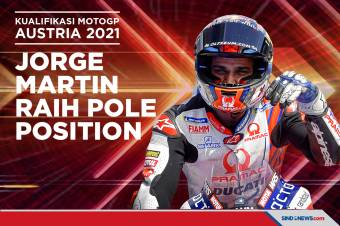 Hasil Kualifikasi MotoGP Austria: Jorge Martin Raih Pole Postion