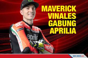 Maverick Vinales Resmi Gabung Aprilia untuk MotoGP 2022