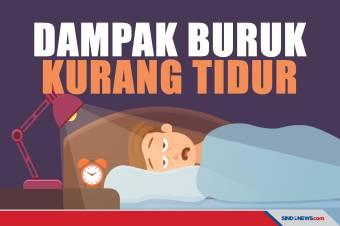Hati-hati, Kurang Tidur Berbahaya bagi Kesehatan Tubuh