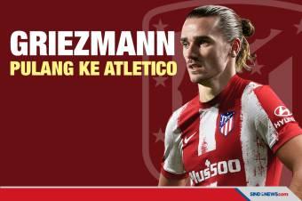 Tinggalkan Barcelona, Antoine Griezmann Pulang ke Atletico Madrid