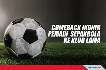 Lima Comeback Ikonik Pemain Sepak bola ke Klub Lama