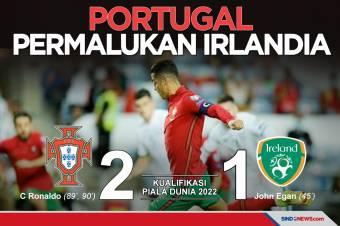 Kualifikasi Piala Dunia 2022: Portugal Bekuk Republik Irlandia