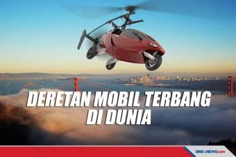Masuk Indonesia, Deretan Kendaraan Terbang Canggih di Dunia