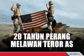 929 Ribu Tewas Selama 20 Tahun Perang Melawan Teror AS