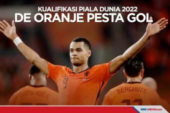 Kualifikasi Piala Dunia 2022: Prancis Imbang, Belanda Pesta Gol