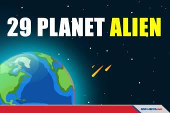 Alien di 29 Planet Mengintip Manusia di Bumi, Planet Apa Saja?