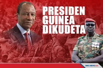 Presiden Guinea Dikudeta dan Ditangkap Pasukan Khusus