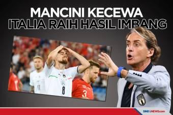 Roberto Mancini Kecewa Usai Italia Gagal Menang Lawan Swiss