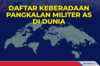 Daftar Keberadaan Pangkalan Militer AS di Seluruh Dunia