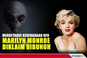 Mengetahui Keberadaan UFO, Marilyn Monroe Diklaim Dibunuh