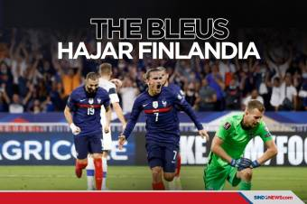 Kualifikasi Piala Dunia 2022 Zona Eropa: Prancis Hajar Finlandia