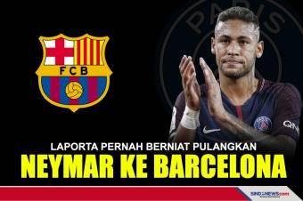 Laporta Pernah Berniat Pulangkan Neymar ke Barcelona
