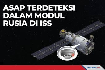 Asap Terdeteksi dalam Stasiun Antariksa Internasional