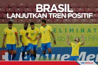 Kualifikasi Piala Dunia 2022: Brasil Lanjutkan Tren Positif