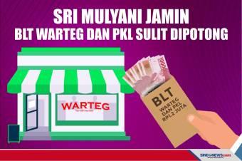 Sri Mulyani Jamin BLT Warteg dan PKL Rp1,2 Juta Sulit Dipotong