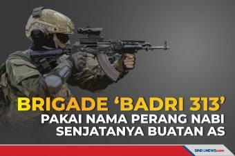 Brigade 'Badri 313' Pakai Nama Perang Nabi, Senjatanya Buatan AS