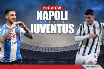 Jadwal Liga Italia 2021, Preview Napoli vs Juventus di Serie A