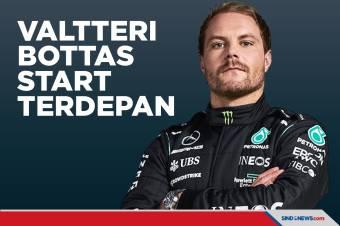 Kualifikasi GP Italia 2021: Valtteri Bottas Raih Posisi Terdepan