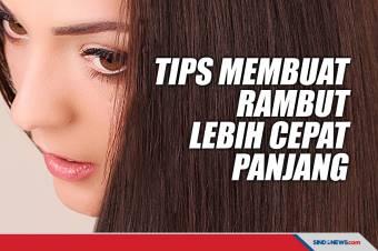 Lima Cara Tepat yang Bikin Rambut Lebih Cepat Panjang