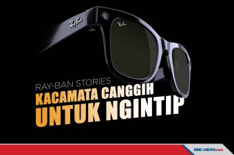 Ray-Ban Stories, Kacamata Canggih Khusus untuk Ngintip
