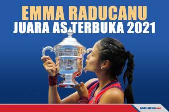 Singkirkan Fernandez, Emma Raducanu Juara AS Terbuka 2021