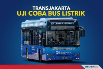 Gratis! Transjakarta Uji Coba Bus Listrik Rute Blok M-Balaikota
