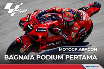 Hasil MotoGP Aragon 2021: Bagnaia Raih Gelar Pertama