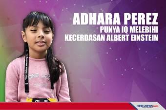 Adhara Perez, Punya IQ Melebihi Kecerdasan Albert Einstein