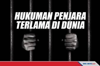 Lima Daftar Hukuman Penjara Paling Lama yang Ada di Dunia
