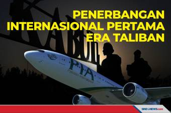 Penerbangan Komersial Internasional Pertama Era Taliban