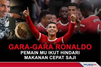 Gara-gara Ronaldo Pemain MU ikut Hindari Makanan Cepat Saji