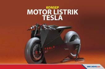 Desainer California Buat Motor Listrik Konsep Masa Depan Tesla
