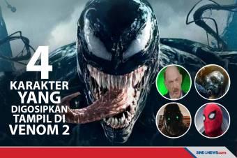 4 Karakter Ini Mungkin Akan Tampil di Venom: Let There Be Carnage