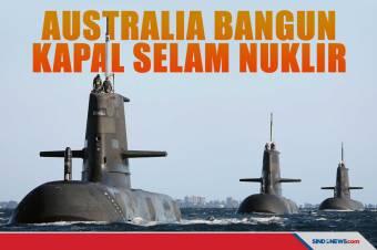 Bekerja Sama dengan AS, Australia akan Bangun Kapal Selam Nuklir